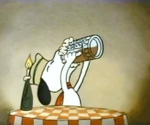 cafe, snoopy, and cartoon image