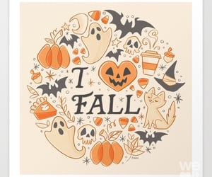 autumn, october, and autumnal image