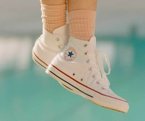 all star, legs, and converse image