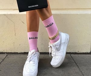 fashion, Balenciaga, and nike image