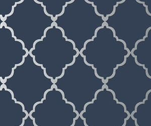 pattern and silver image