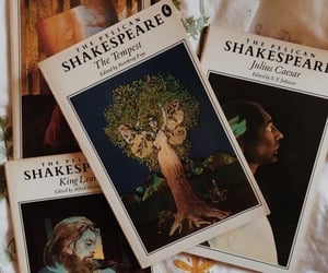 books, shakespeare, and art image