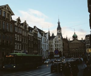 aesthetic, winter, and amsterdam image