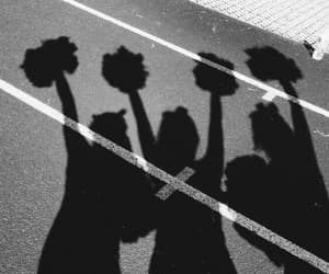 aesthetic, cheer, and cheerleading image