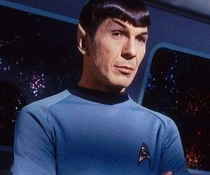 leonard nimoy, star trek, and vulcan image