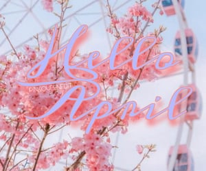 april, month, and hello april image
