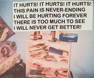 hurt and pain image