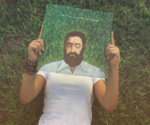 grass, iron and wine, and men image
