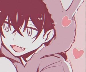boy, couple, and manga image
