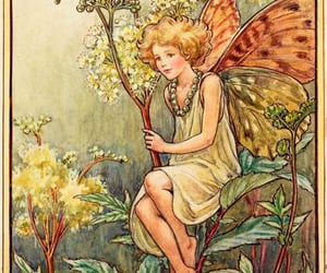 art, spring, and fairy image