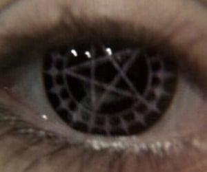 grunge, eyes, and eye image