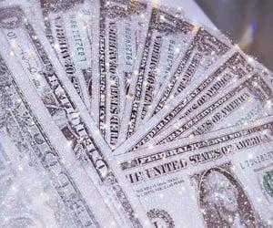 money, glitter, and aesthetic image