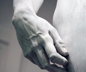 art, sculpture, and michelangelo image