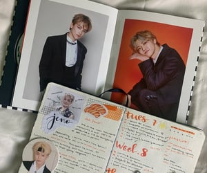 collector, bullet journal, and haechan image
