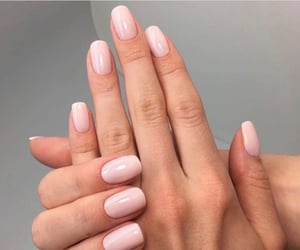 nails, nudes, and pink image