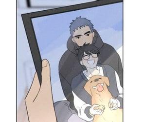 aesthetic, couple, and manga image