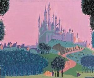 aurora, castle, and disney image
