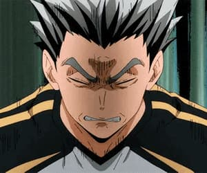 anime, haikyu, and bokuto image