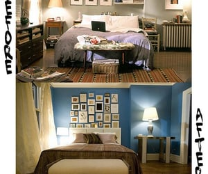 bedroom, Carrie Bradshaw, and sex and the city image
