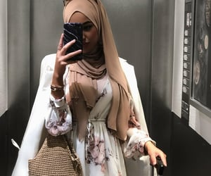 fashion, inspiration, and hijab image