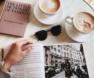 cappuccino, chilling, and fashion image