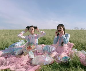karin, hyeseong, and elris image