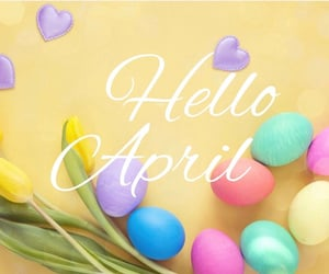spring and welcome image