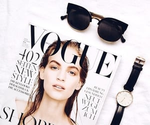 free time, magazine, and sunglasses image