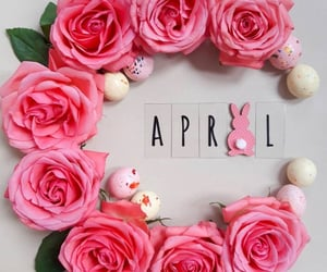 april, flowers, and spring image