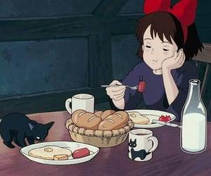 anime, kiki's delivery service, and gif image