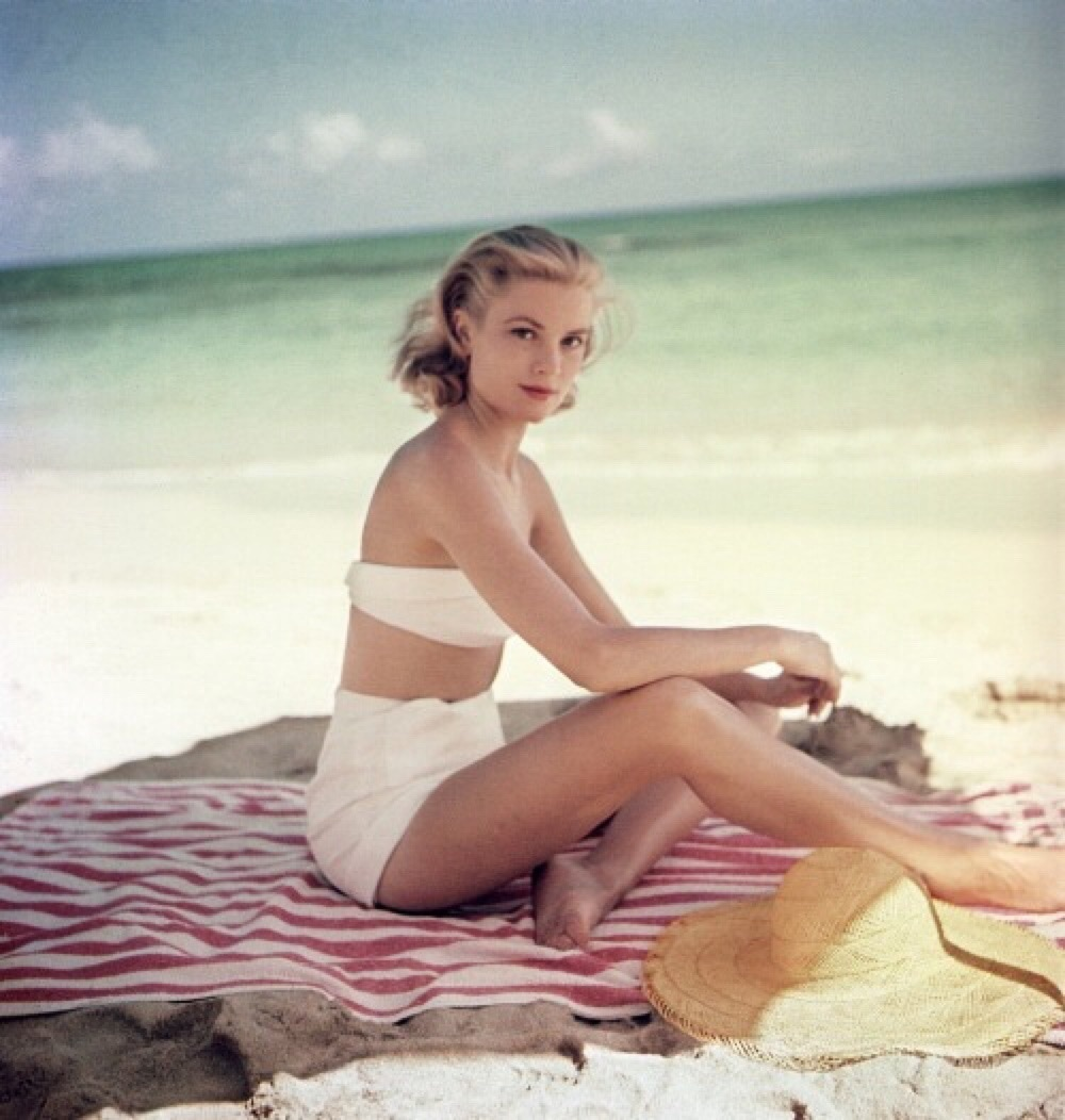 1950s, blonde, and glamour image