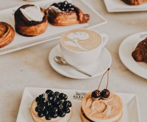 blueberries, breakfast, and brunch image