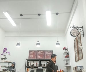 coffee shop and white image