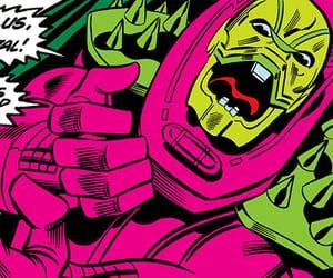 comics, Marvel, and annihilus image