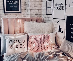 bedroom, ideas, and pink image