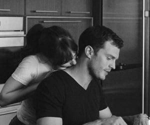 couple, love, and christian grey image