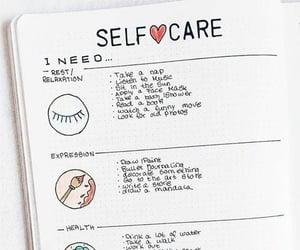 ideas, organization, and self care image