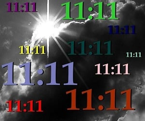 11:11, angel numbers, and angelcore image