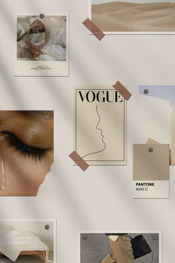 vogue, style, and aesthetic image