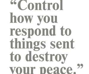 control, meditation, and peace image