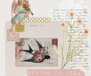 aesthetics, Collage, and flowers image