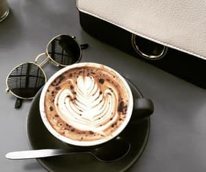coffee, purse, and sunglasses image