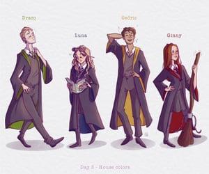 gryffindor, hogwarts, and hufflepuff image
