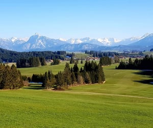 Alps, home, and spring image