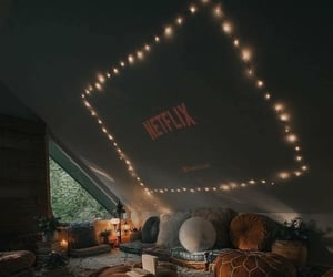 netflix, home, and cozy image