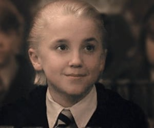 draco malfoy, student, and harry potter image