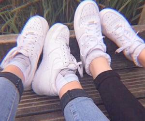 girls, nike, and white image