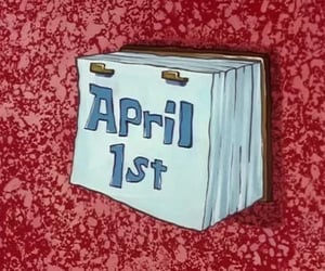 april, spongebob, and funny image