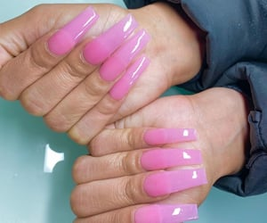 nails, instagram, and pink image