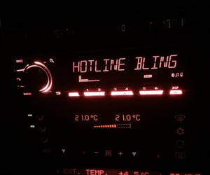 Drake, hotline bling, and grunge image